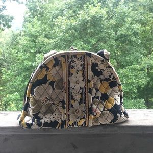 Vera Bradley Satchel Purse Dogwood Print